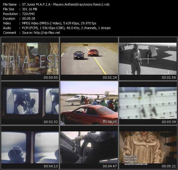Junior M.A.F.I.A video screenshot