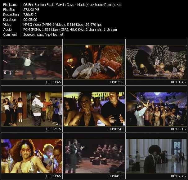 Eric Sermon Feat. Marvin Gaye video screenshot