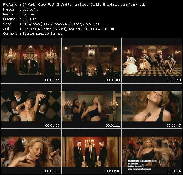 Mariah Carey Feat. JD And Fatman Scoop video screenshot