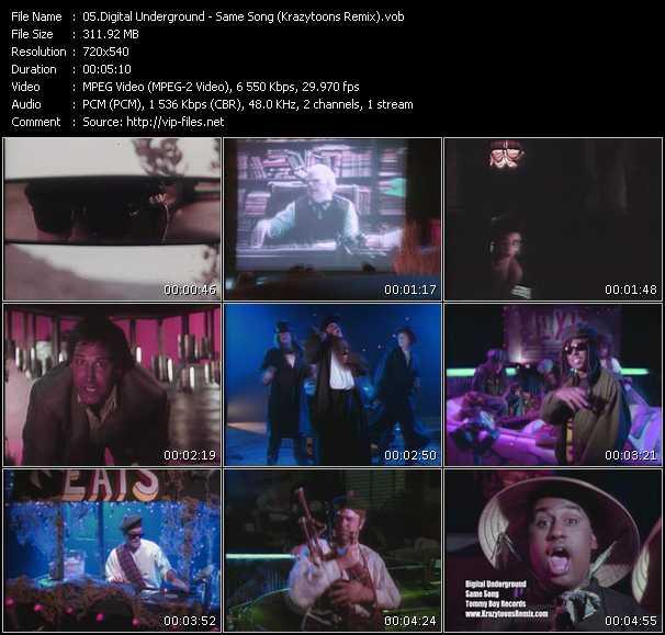 video Same Song (Krazytoons Remix) screen