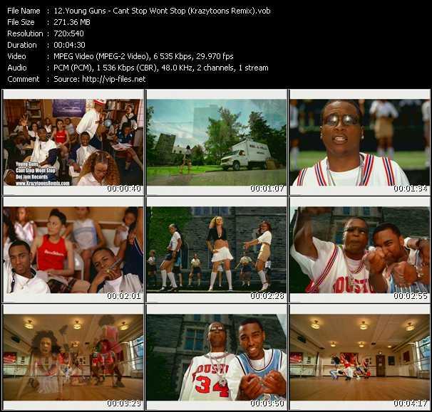 Young Guns video screenshot