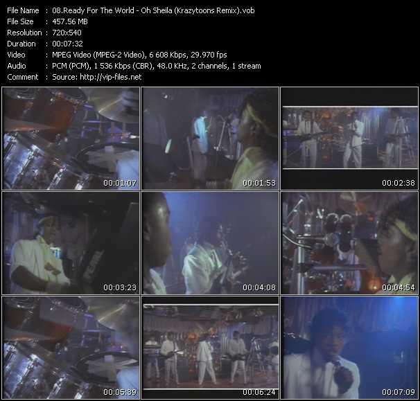 video Oh Sheila (Krazytoons Remix) screen