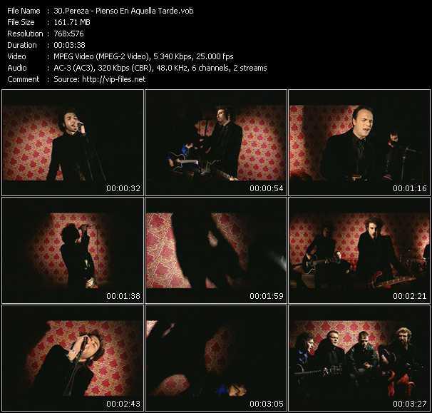 Pereza video screenshot