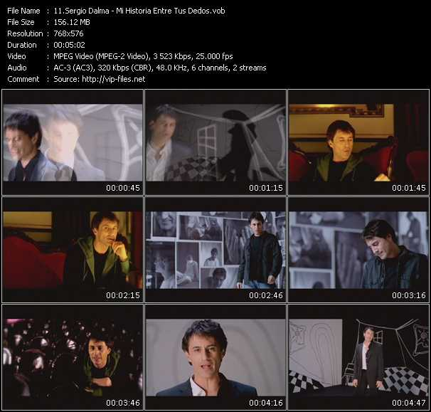 Sergio Dalma video screenshot