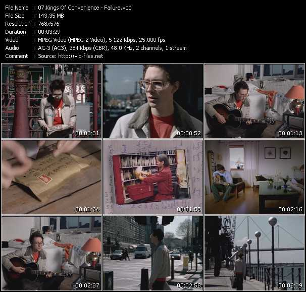 Kings Of Convenience video screenshot