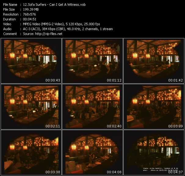 Sofa Surfers video screenshot