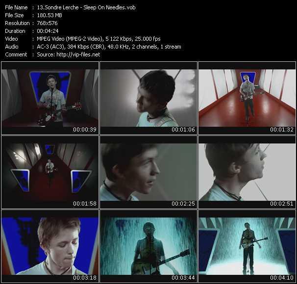 Sondre Lerche video screenshot