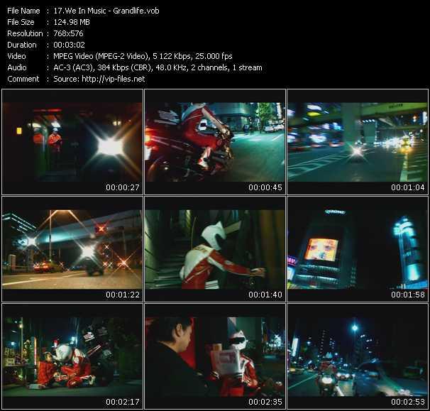 We In Music video screenshot