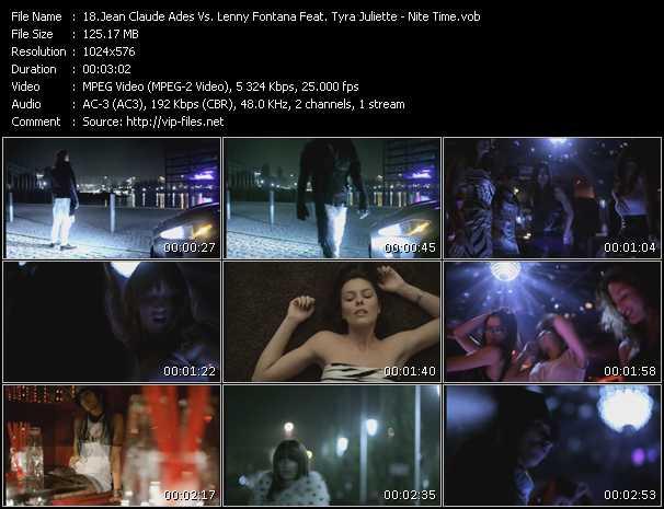 Jean Claude Ades Vs. Lenny Fontana Feat. Tyra Juliette video screenshot