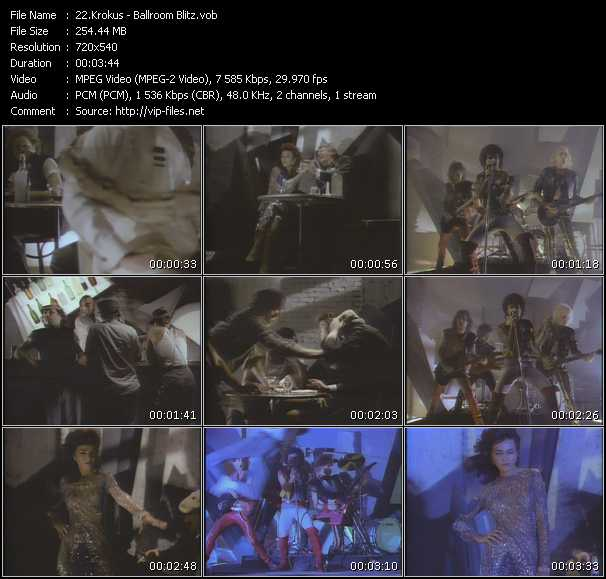 Krokus video screenshot