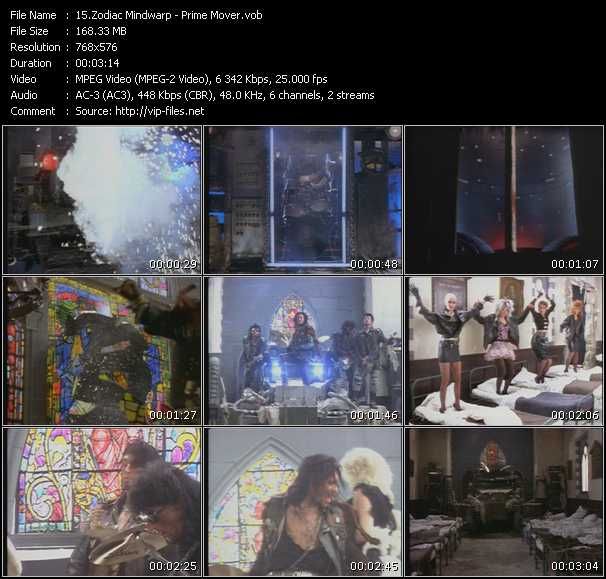 video Prime Mover screen