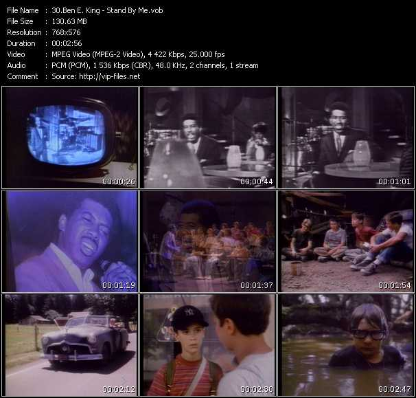 Ben E. King video screenshot