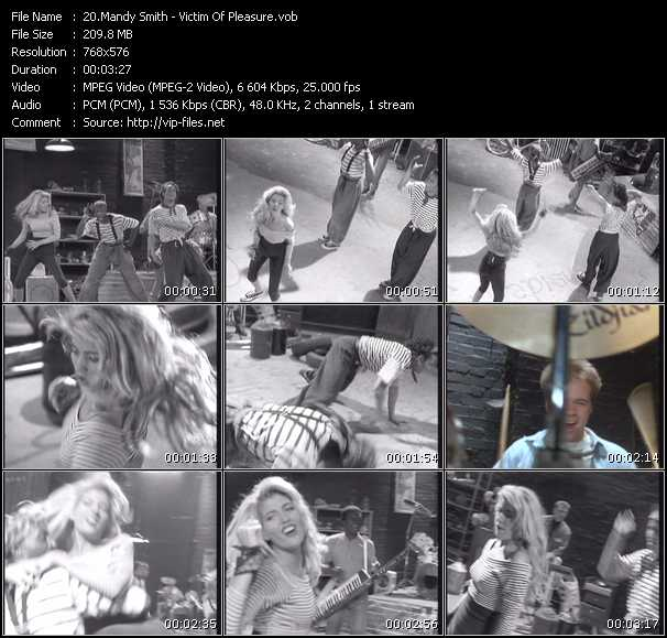 Mandy Smith video screenshot