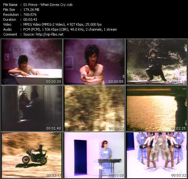 video When Doves Cry screen