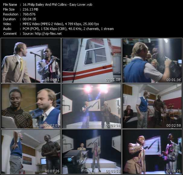 Philip Bailey And Phil Collins video screenshot