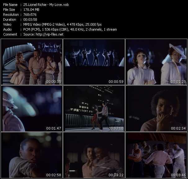 video My Love screen