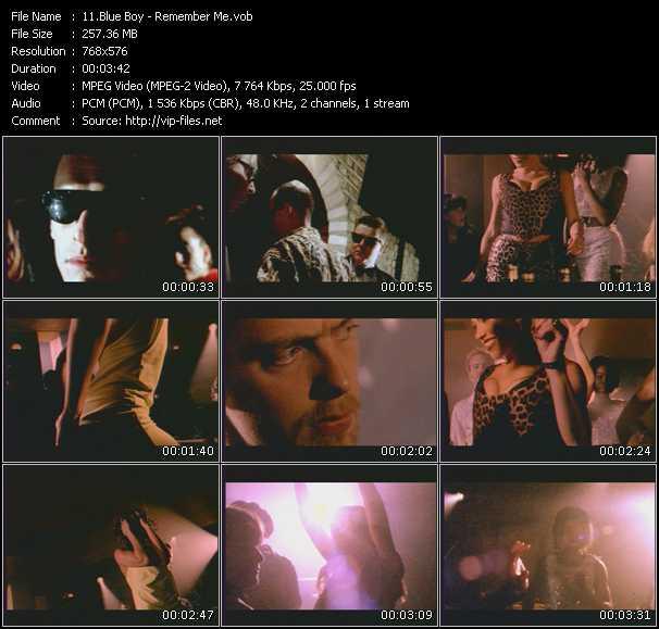 Blue Boy video screenshot