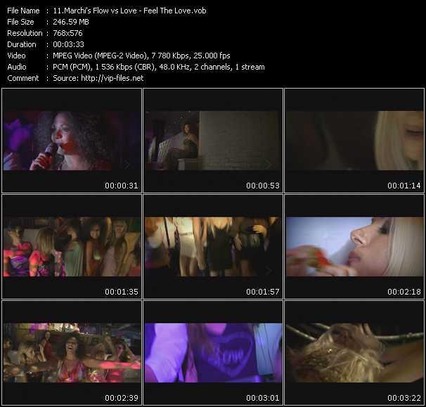 Marchi's Flow Vs. Love video screenshot