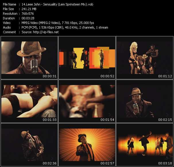 Leee John video screenshot