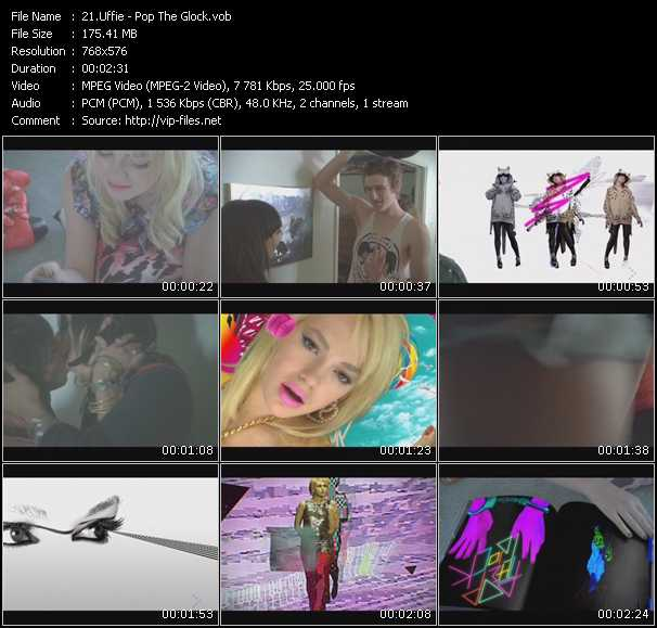 Uffie video screenshot
