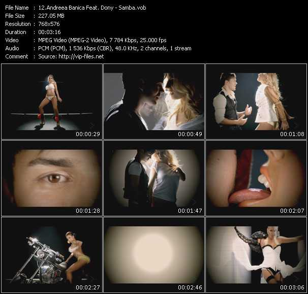 Andreea Banica Feat. Dony video screenshot