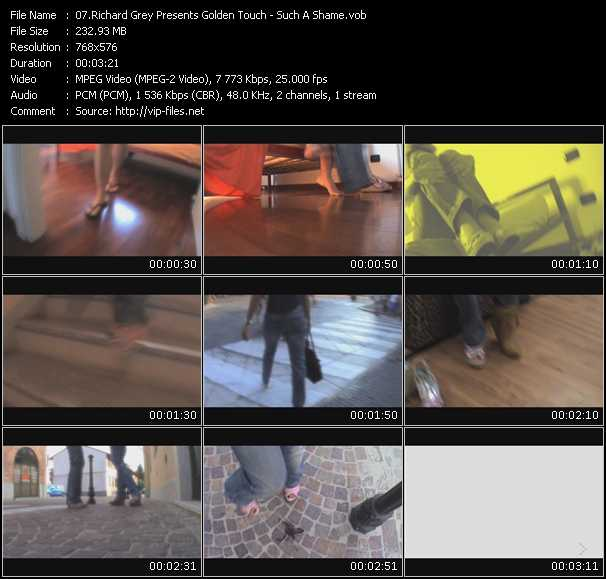 Richard Grey Presents Golden Touch video screenshot