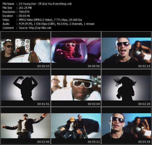 Young Don video screenshot