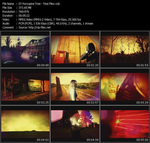 Porcupine Tree video screenshot