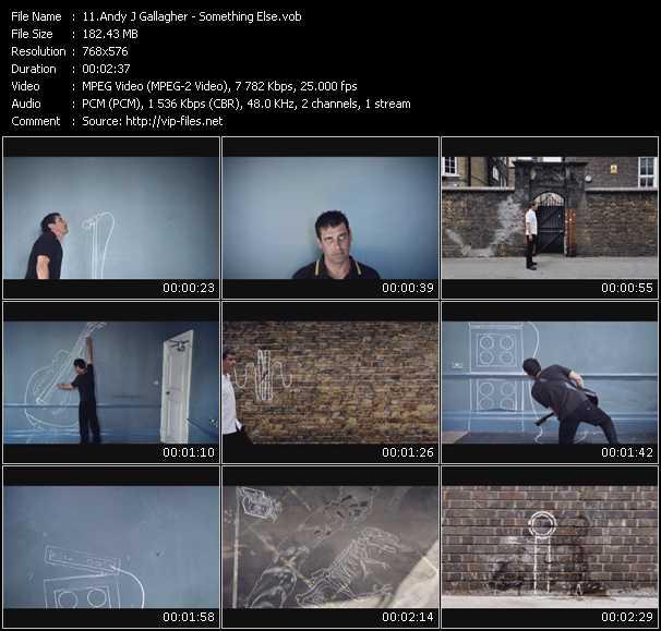 Andy J Gallagher video screenshot
