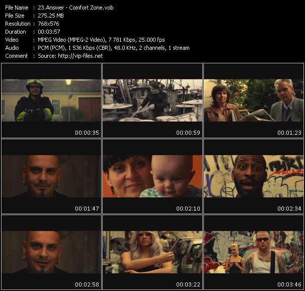 Answer video screenshot