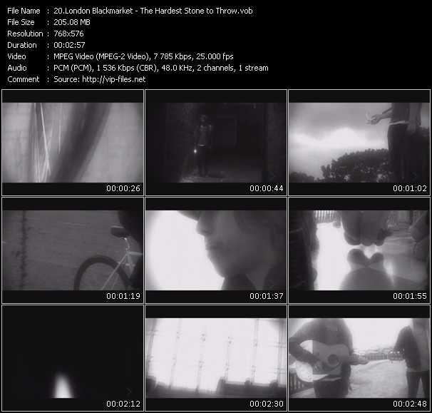 London Blackmarket video screenshot