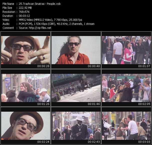 Trashcan Sinatras video screenshot