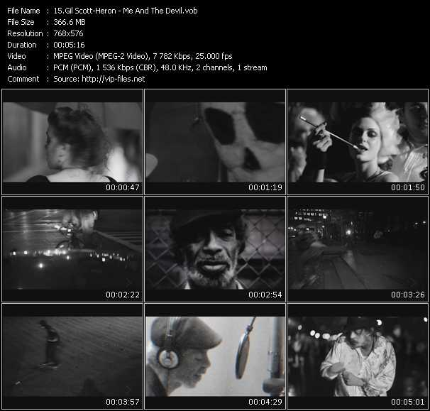 Gil Scott-Heron video screenshot