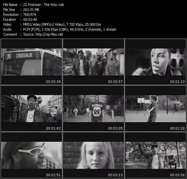 Postman video screenshot