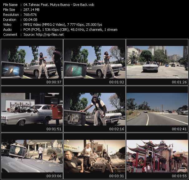 Tahmac Feat. Mutya Buena video screenshot