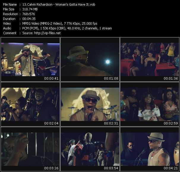 Calvin Richardson video screenshot