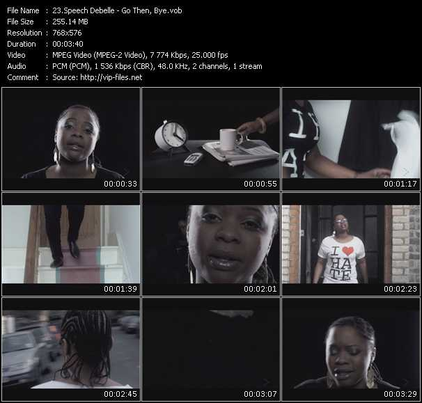 Speech Debelle video screenshot