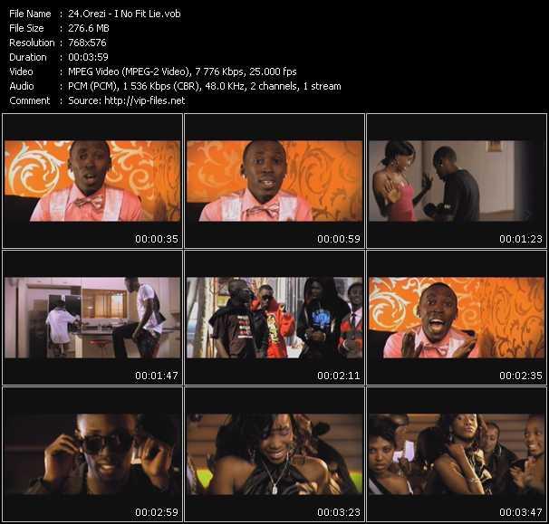 Orezi video screenshot