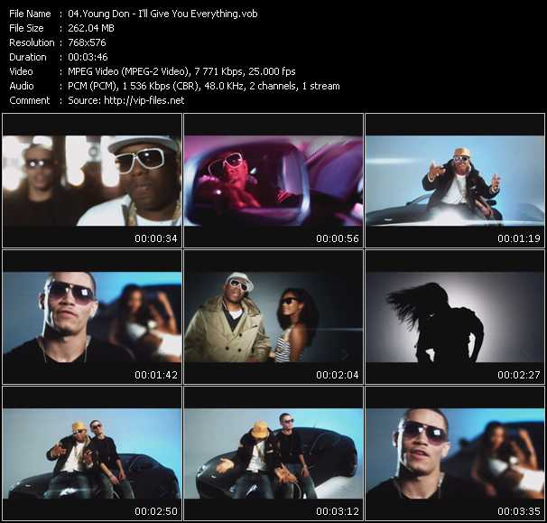 Young Don video screenshot