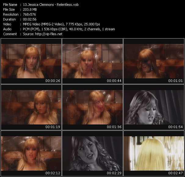 Jessica Clemmons video screenshot