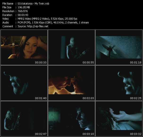 Katatonia video screenshot