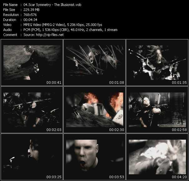 Scar Symmetry video screenshot
