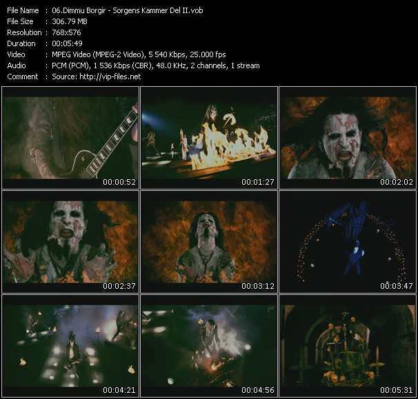 Dimmu Borgir video screenshot