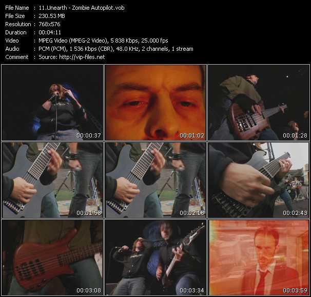 Unearth video screenshot