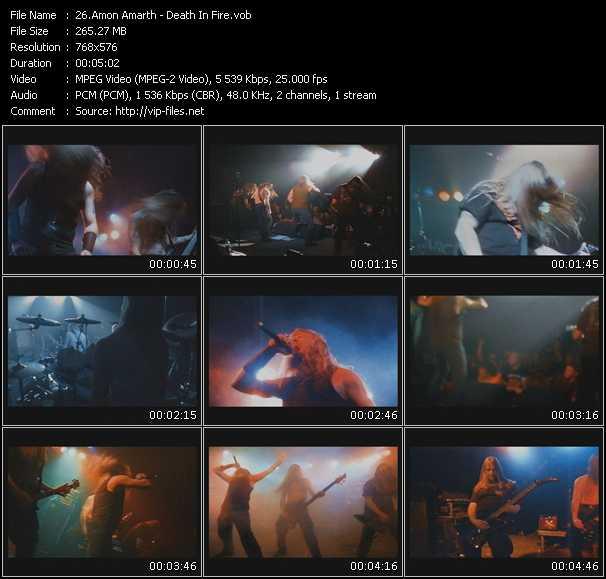 Amon Amarth video screenshot