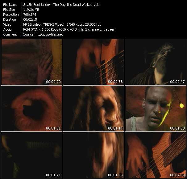 Six Feet Under video screenshot