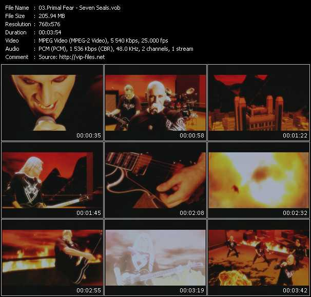 Primal Fear video screenshot