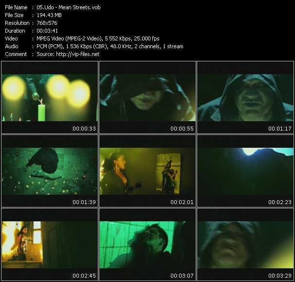 U.D.O. video screenshot