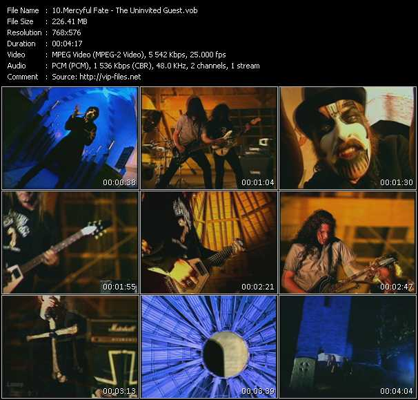 Mercyful Fate video screenshot