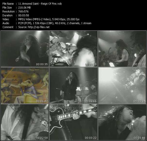 Armored Saint video screenshot